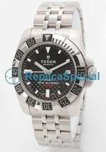 Glamour Tudor Date - Day Lady TD20030CBK Mens White Dial Stainless Steel Watch zaak
